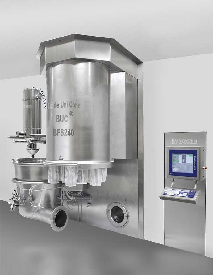 Sistema de lecho fluidizado BFS