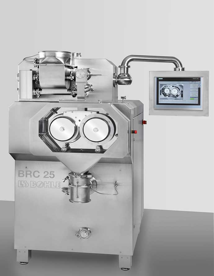 Granulador seco BRC 25