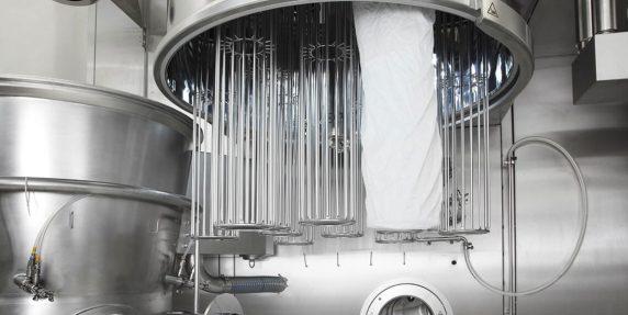 Kompakte Granulationsanlage für die pharmazeutische Industrie